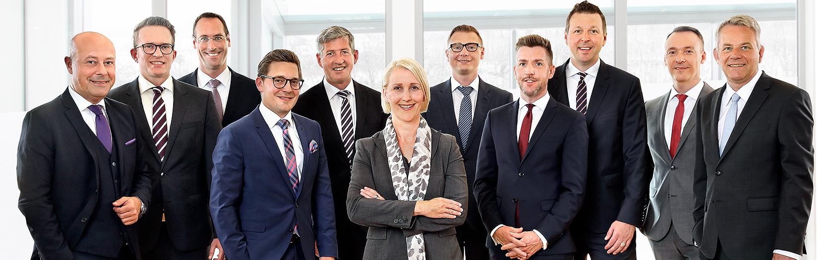 Das Team der S PrivateBanking Dortmund GmbH