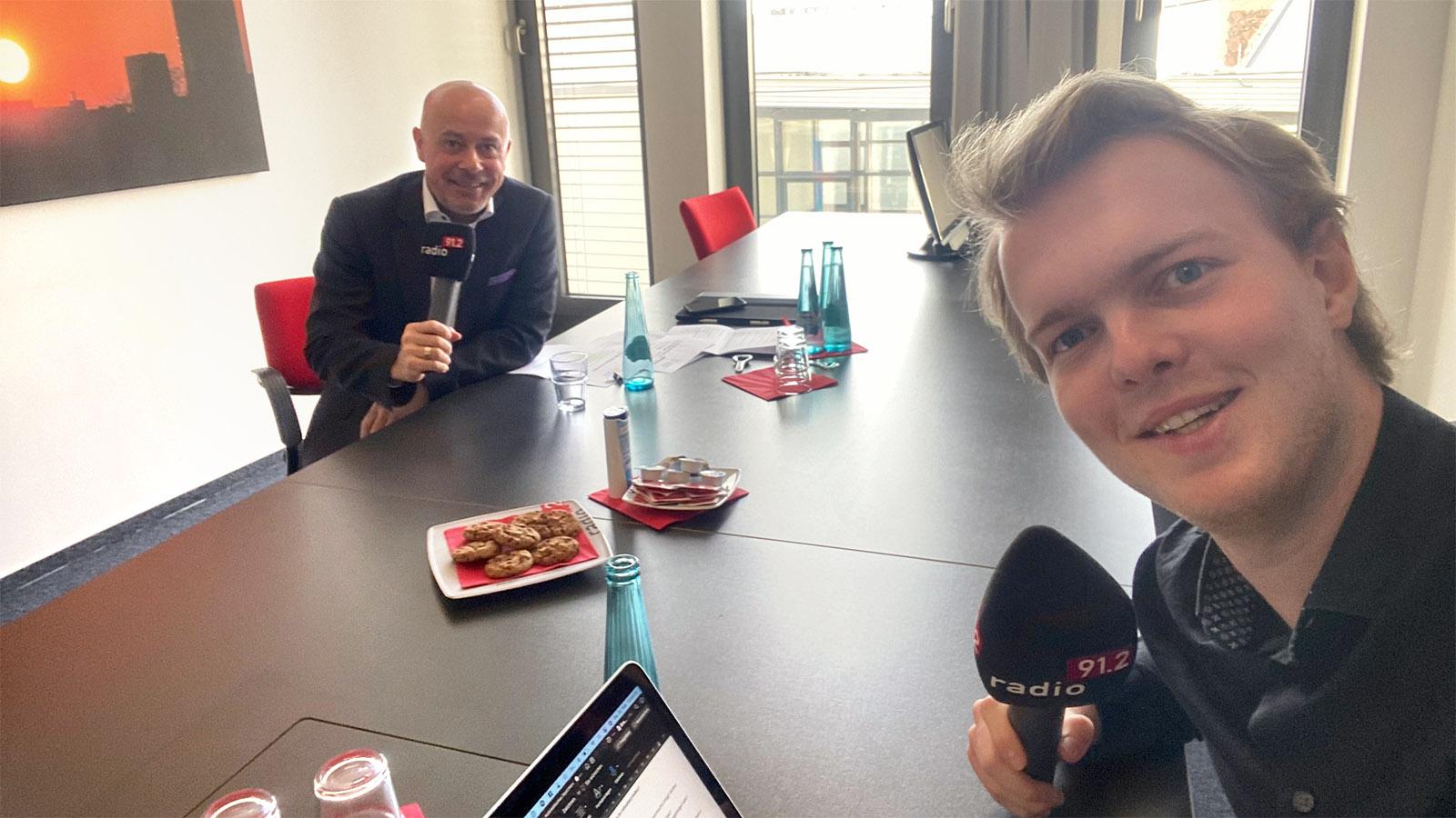 Podcast mit Sascha Horiztky